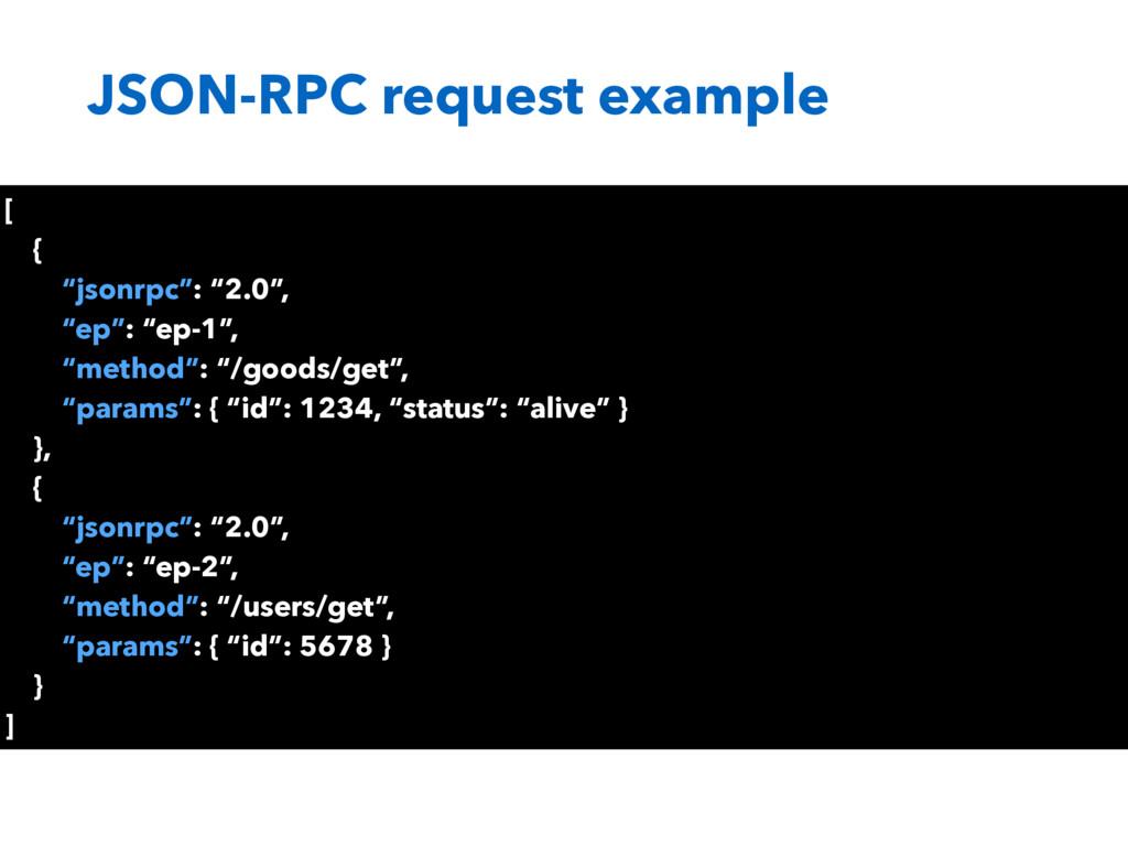 """JSON-RPC request example [ { """"jsonrpc"""": """"2.0"""", ..."""