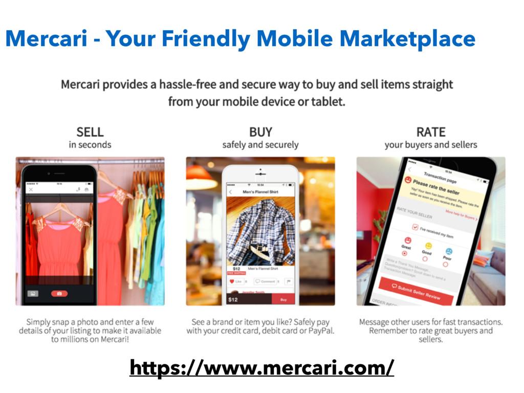 https://www.mercari.com/ Mercari - Your Friendl...