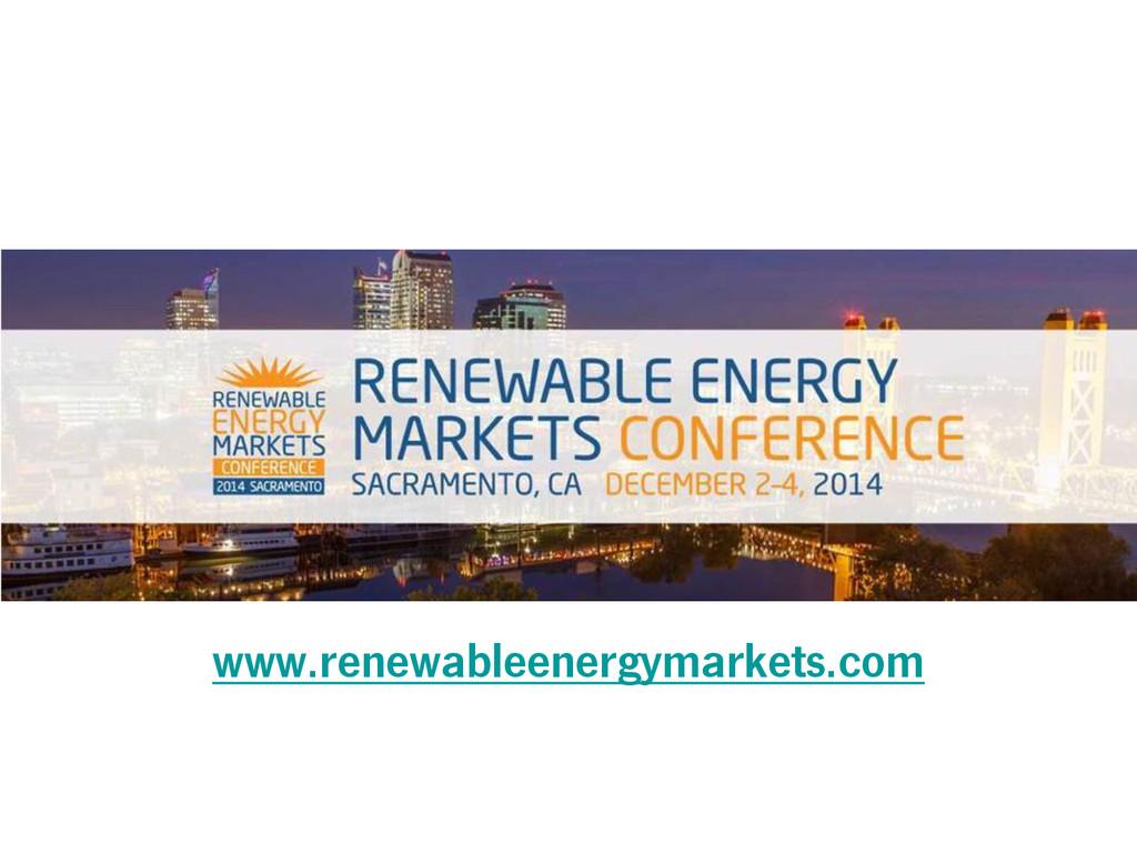 www.renewableenergymarkets.com