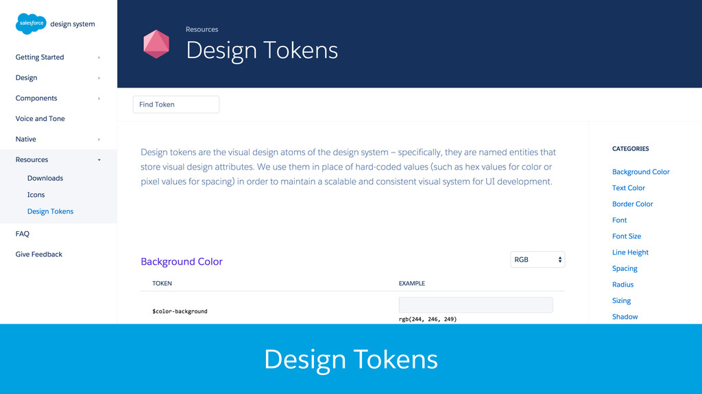Design Tokens