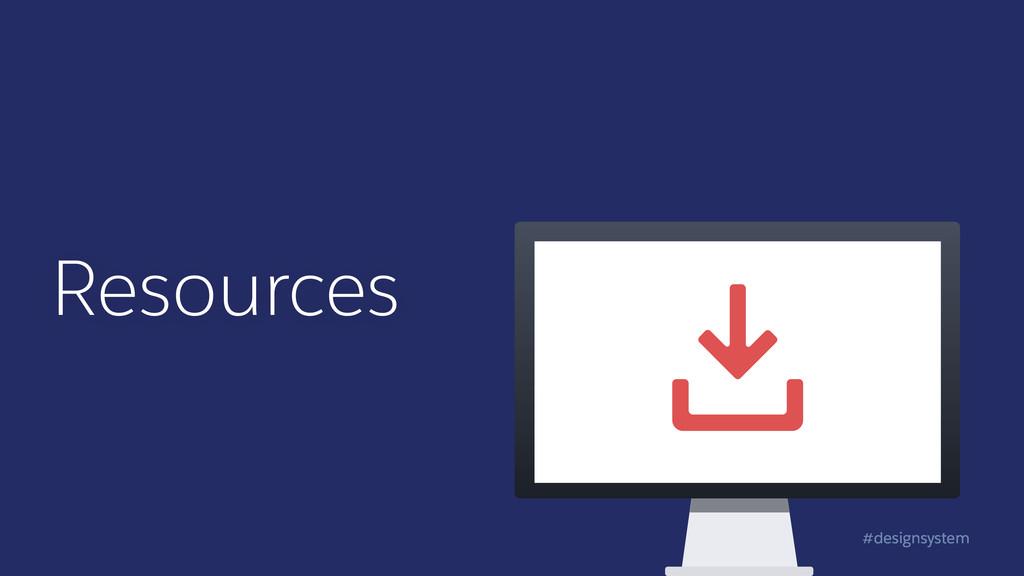 #designsystem Resources