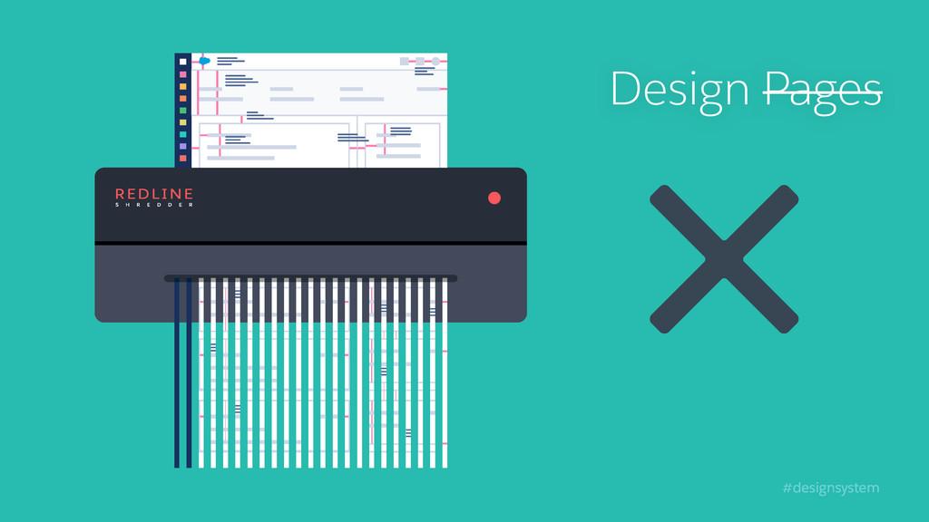 #designsystem Design Pages