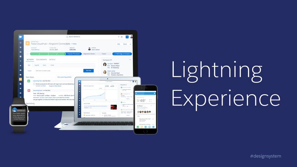 #designsystem Lightning Experience