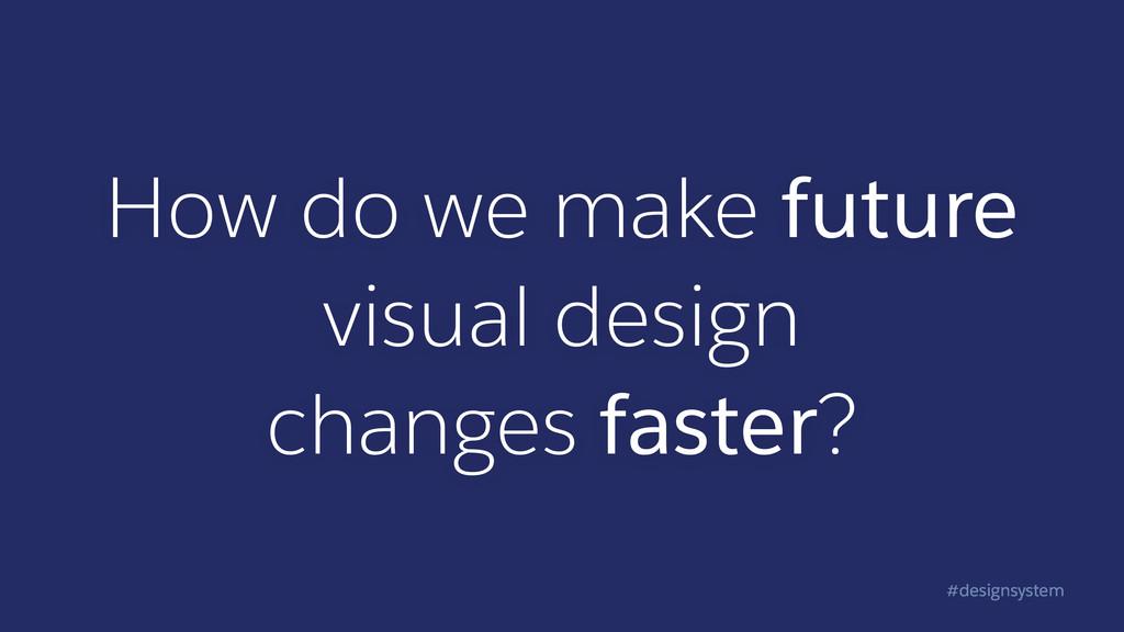 #designsystem How do we make future visual desi...