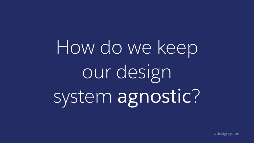 #designsystem How do we keep  our design syst...