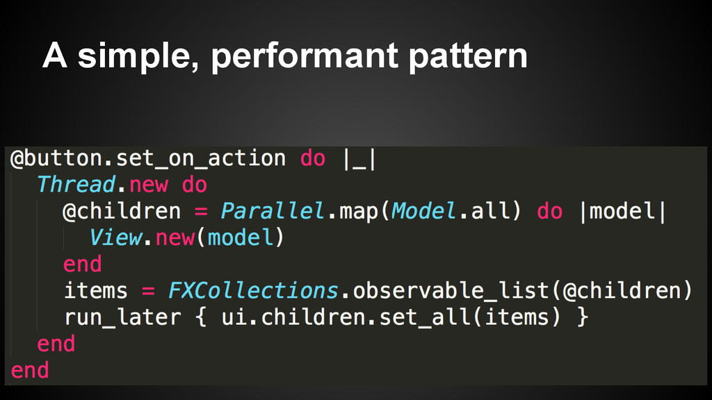 A simple, performant pattern