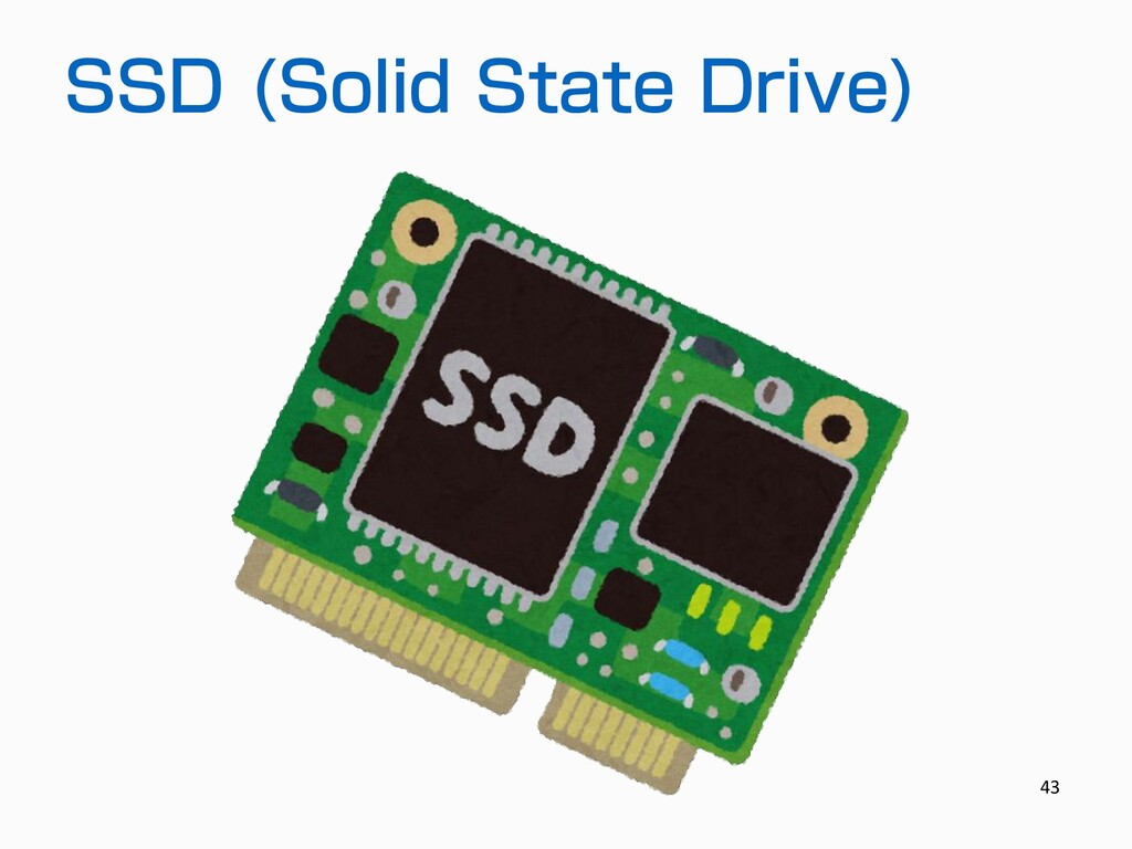 SSD (Solid State Drive) 43