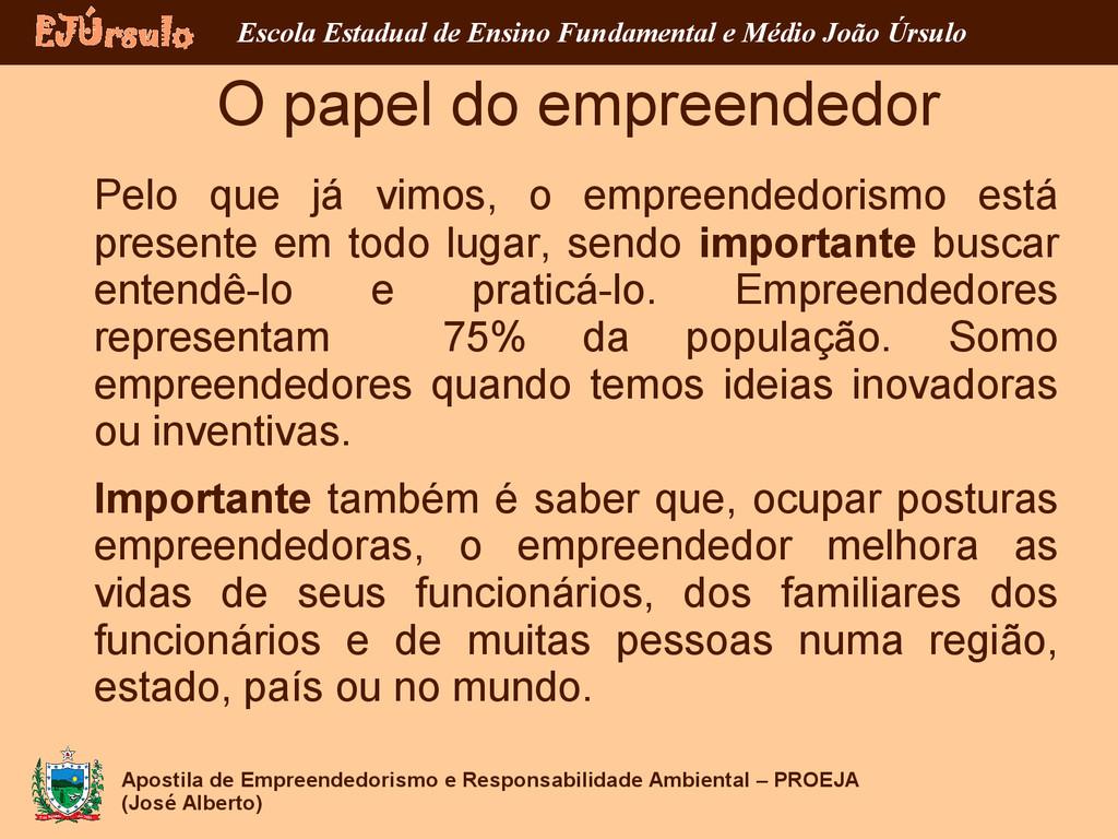 Apostila de Empreendedorismo e Responsabilidade...