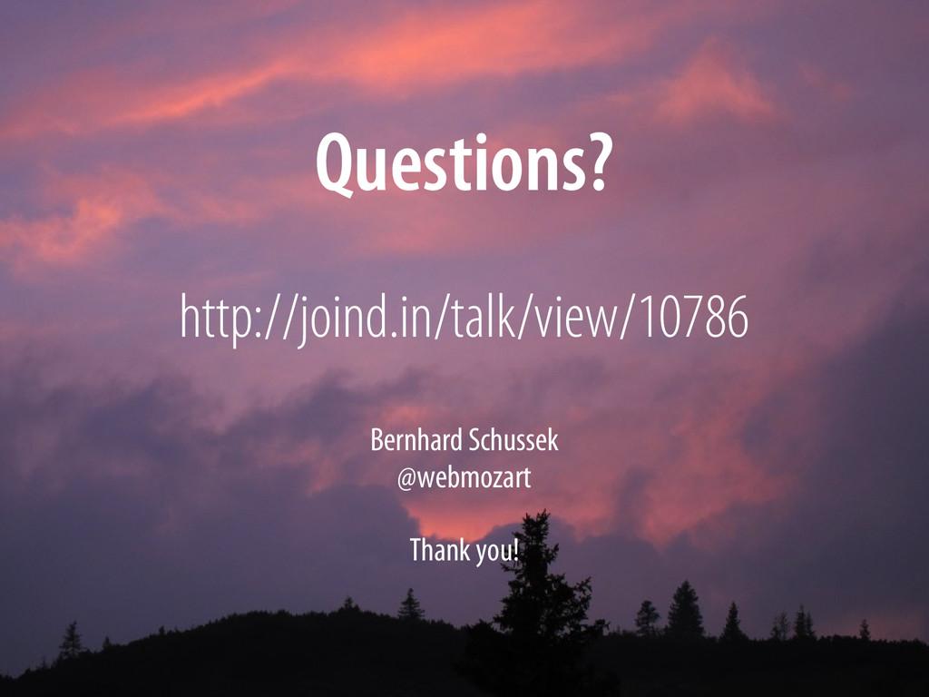 Bernhard Schussek @webmozart 101/101 Questions?...