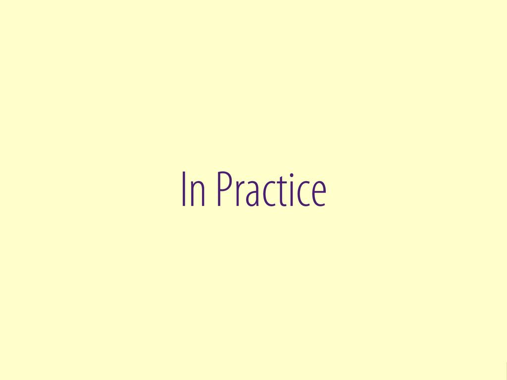 Bernhard Schussek @webmozart 35/101 In Practice