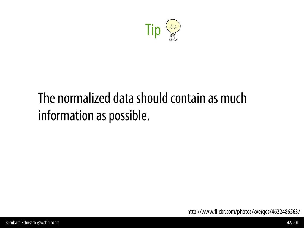 Bernhard Schussek @webmozart 42/101 Tip http://...