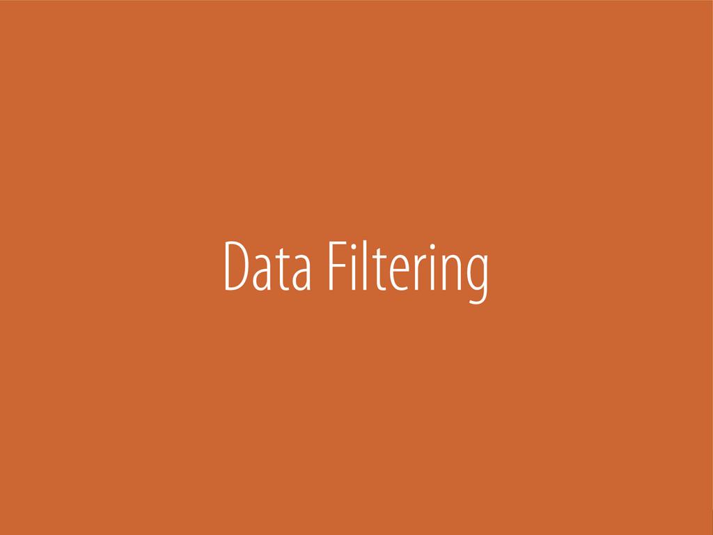 Bernhard Schussek @webmozart 86/101 Data Filter...
