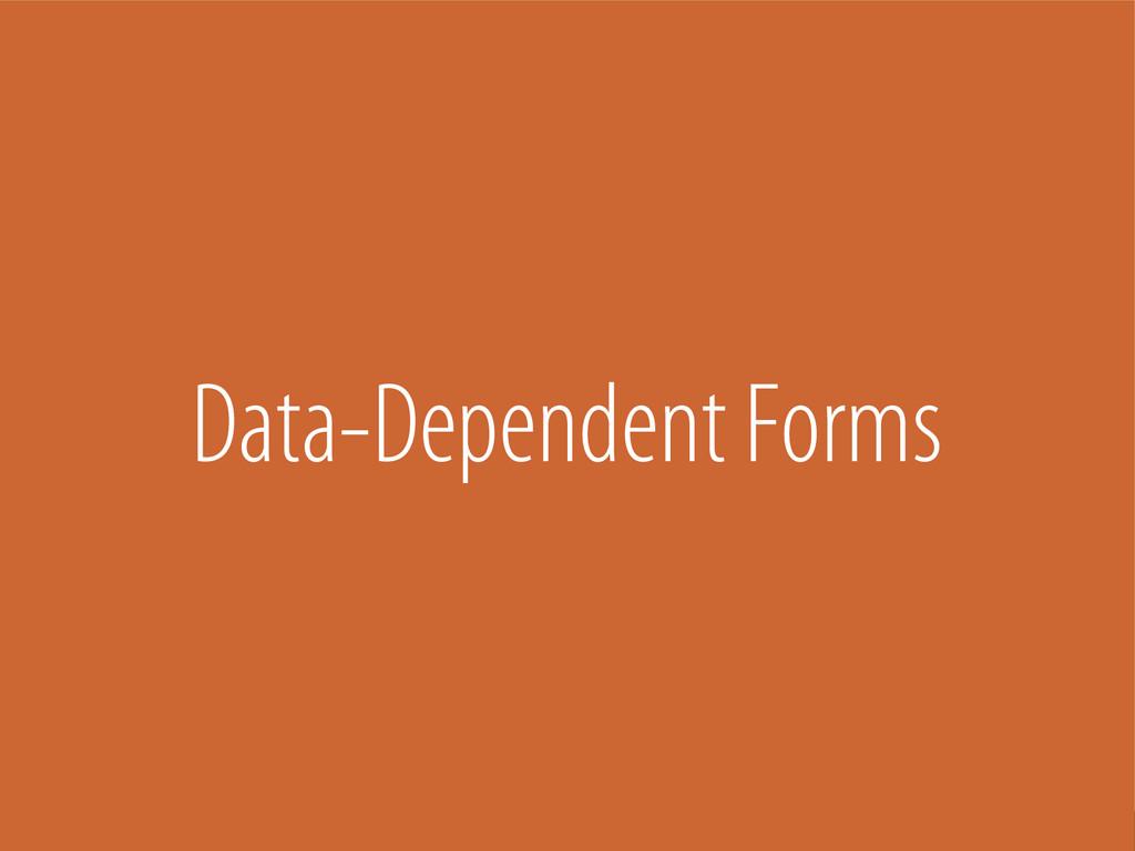 Bernhard Schussek @webmozart 90/101 Data-Depend...