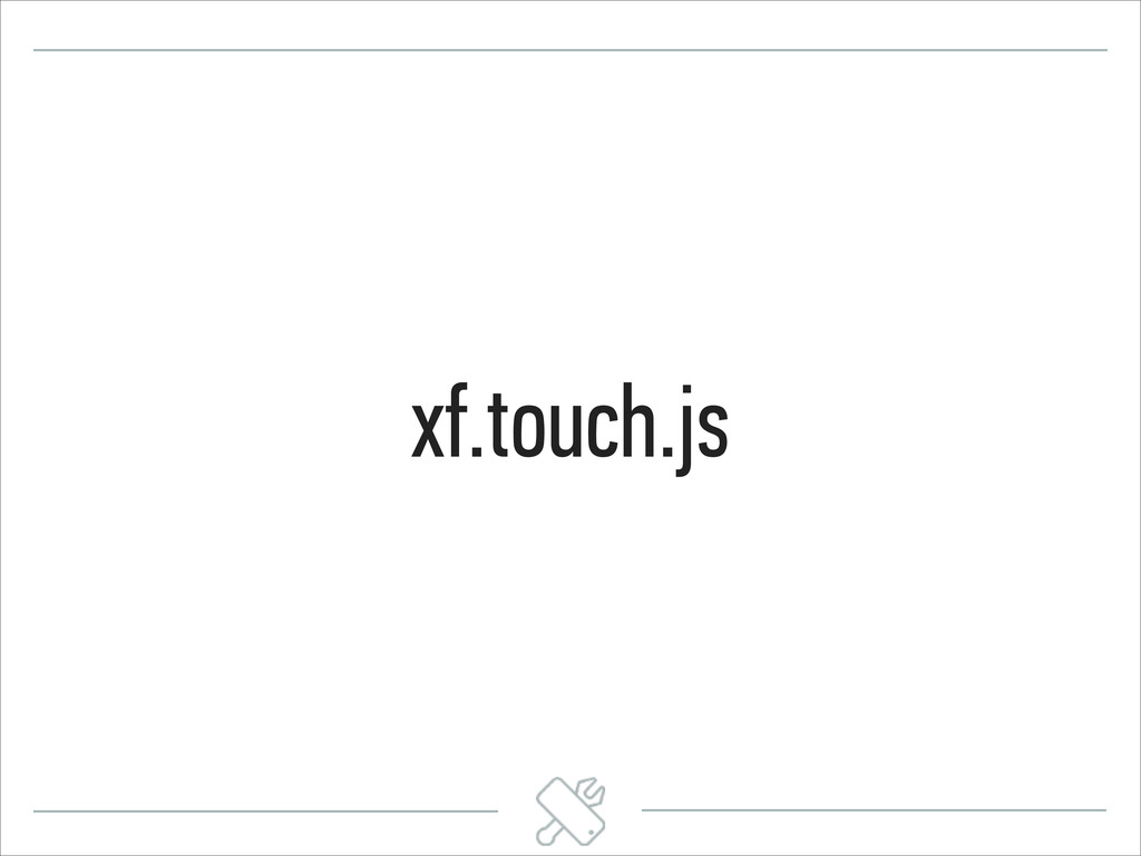 xf.touch.js