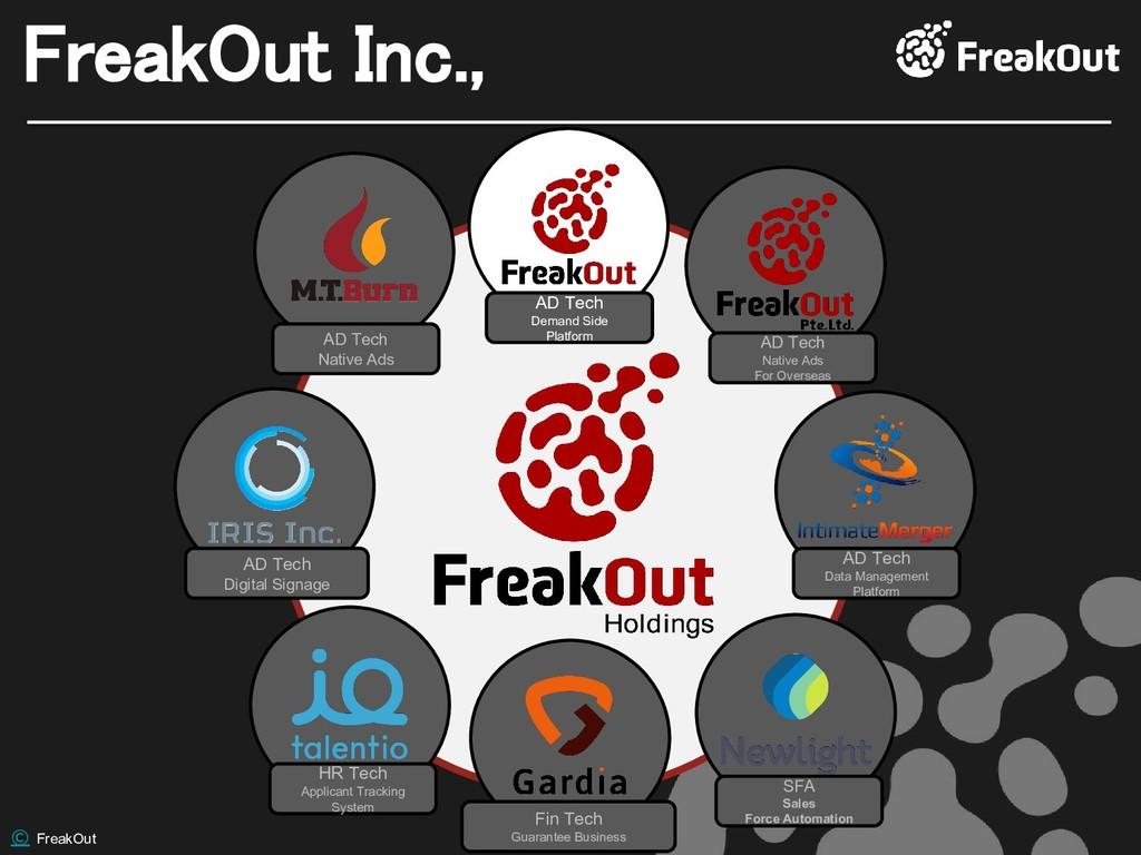 © FreakOut FreakOut Inc., AD Tech Data Manageme...