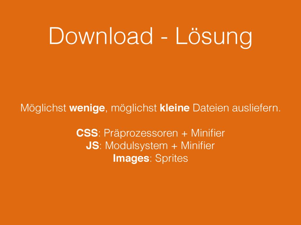 Download - Lösung Möglichst wenige, möglichst k...