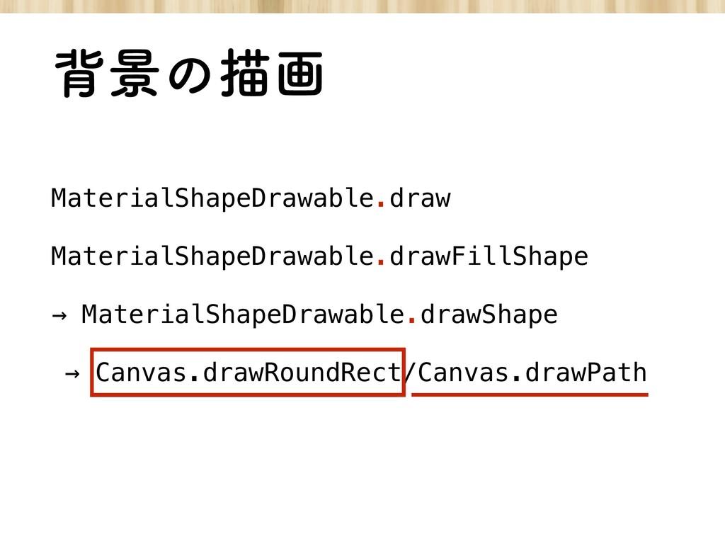 എܠͷඳը MaterialShapeDrawable.draw MaterialShapeD...