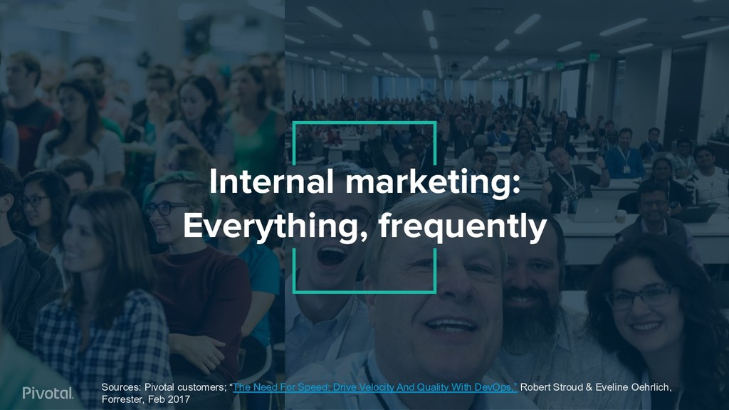 Internal marketing: Everything, frequently Sour...