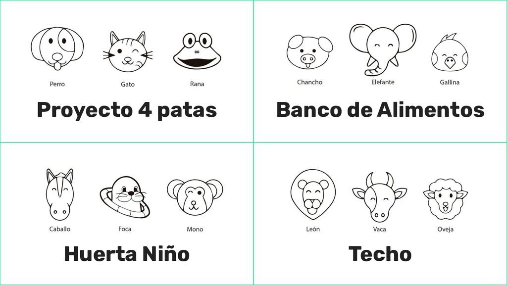 Proyecto 4 patas Banco de Alimentos Huerta Niño...