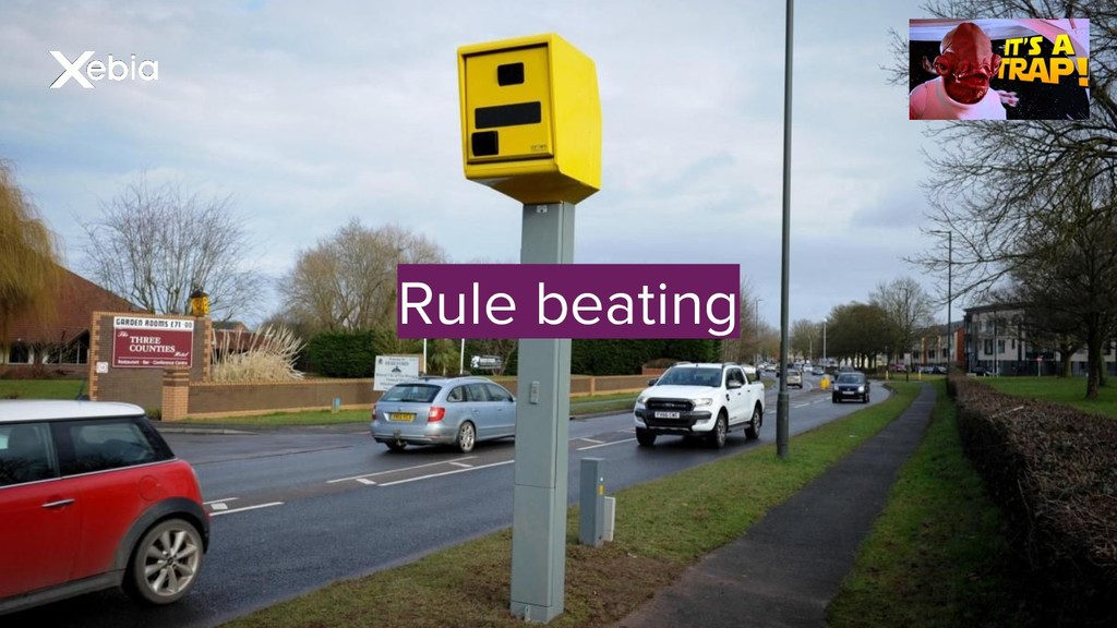 Rule beating