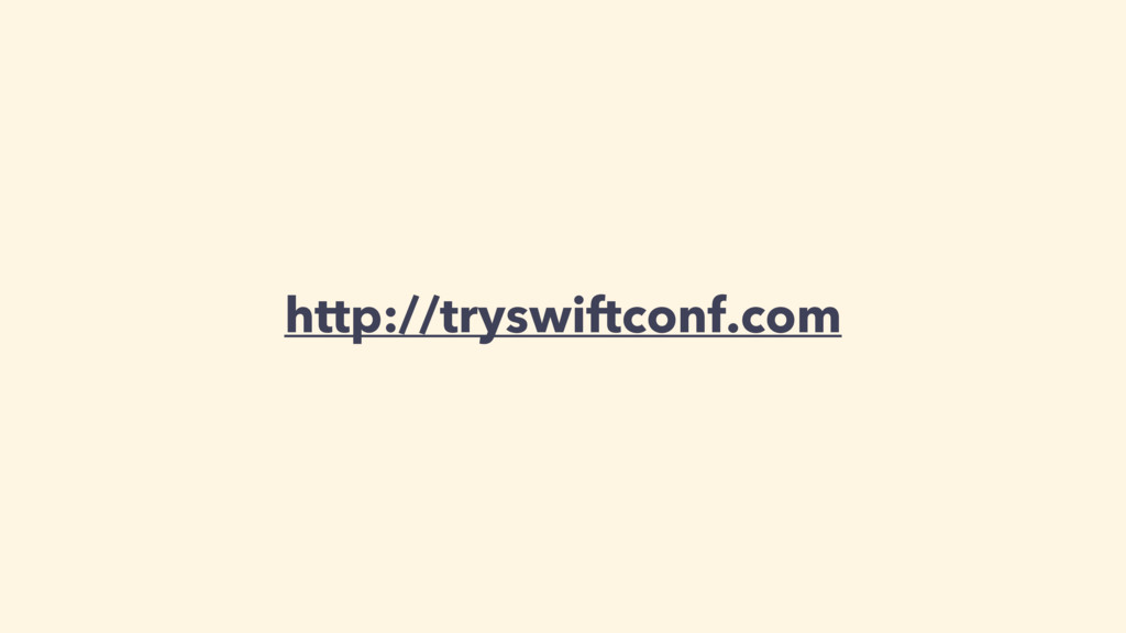 http://tryswiftconf.com