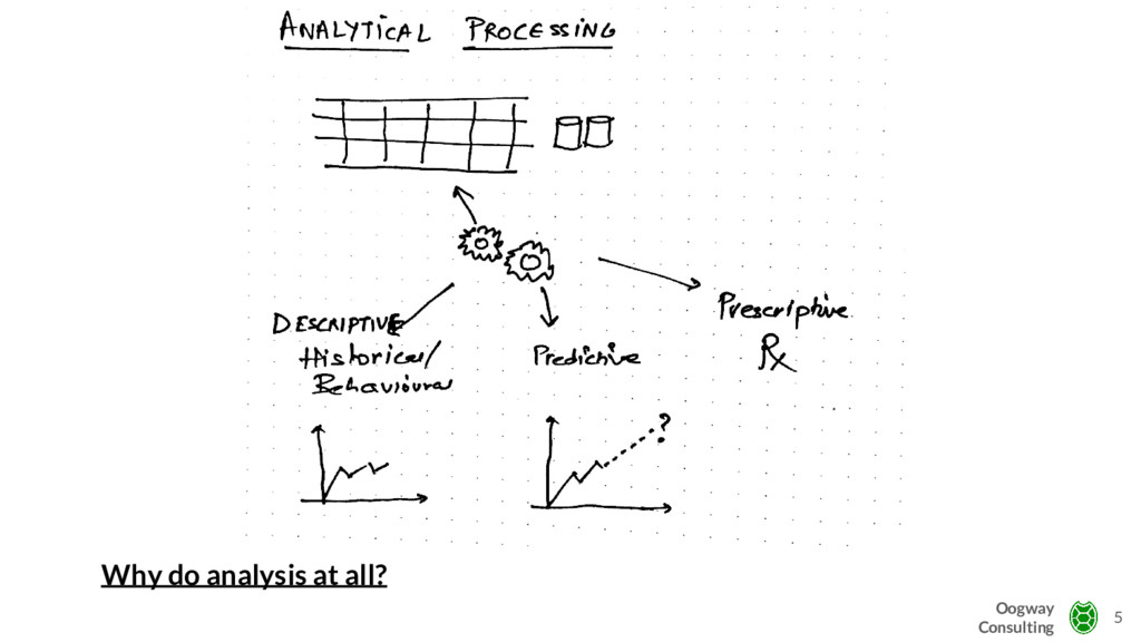 Why do analysis at all? 5 Oogway Consulting
