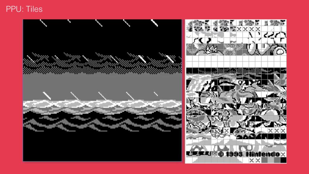 PPU: Tiles