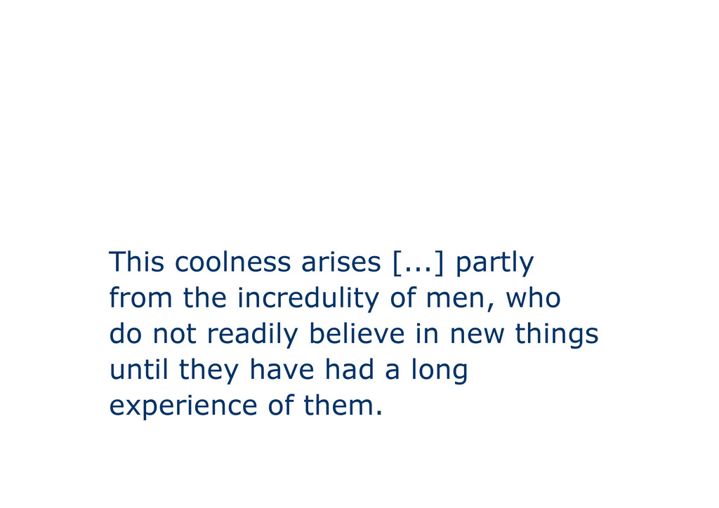 This coolness arises [...] partly from the incr...