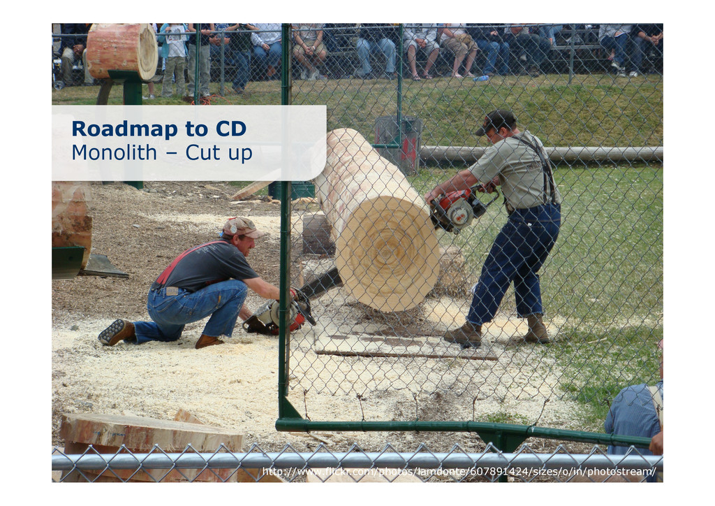 Roadmap to CD Monolith – Cut up http://www.flic...