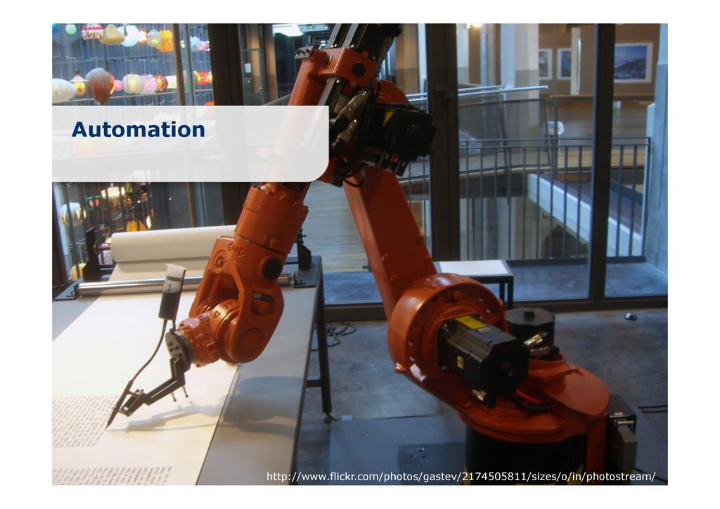 Automation http://www.flickr.com/photos/gastev/...