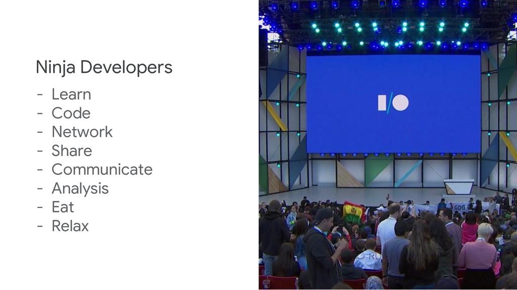 Ninja Developers - Learn - Code - Network - Sha...