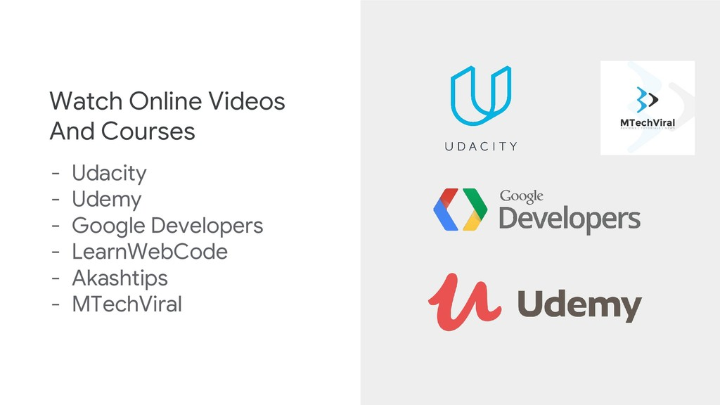 Watch Online Videos And Courses - Udacity - Ude...