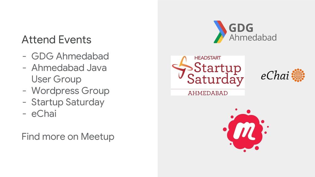 Attend Events - GDG Ahmedabad - Ahmedabad Java ...