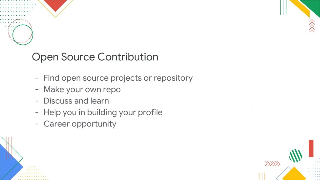 Open Source Contribution - Find open source pro...