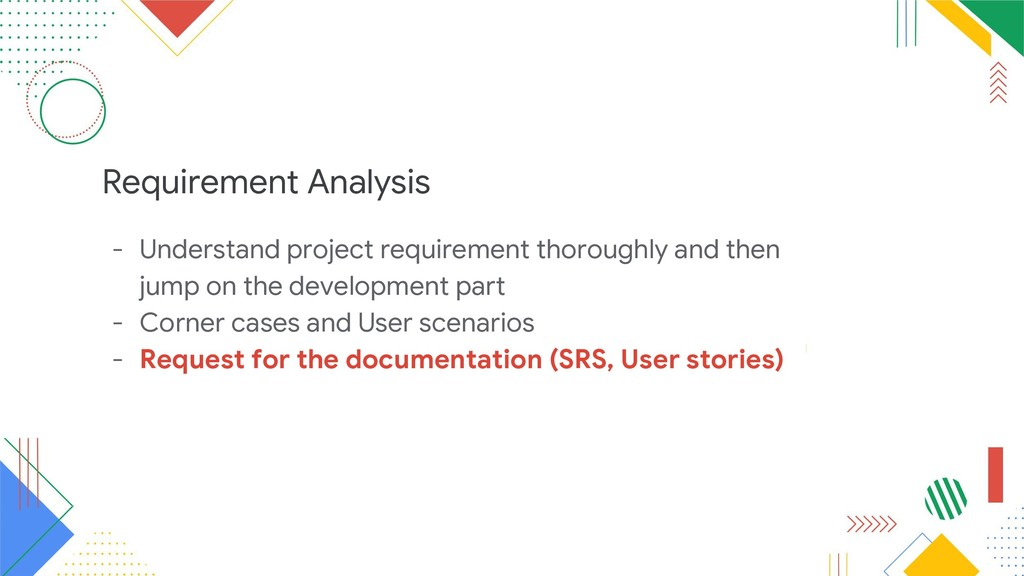 Requirement Analysis - Understand project requi...