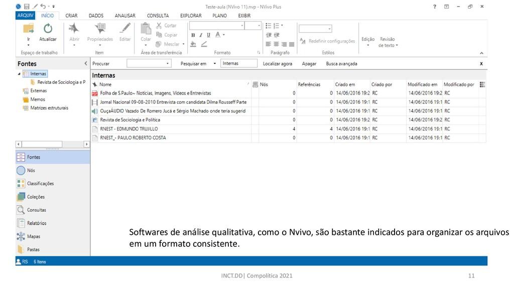 INCT.DD| Compolítica 2021 11 Softwares de análi...