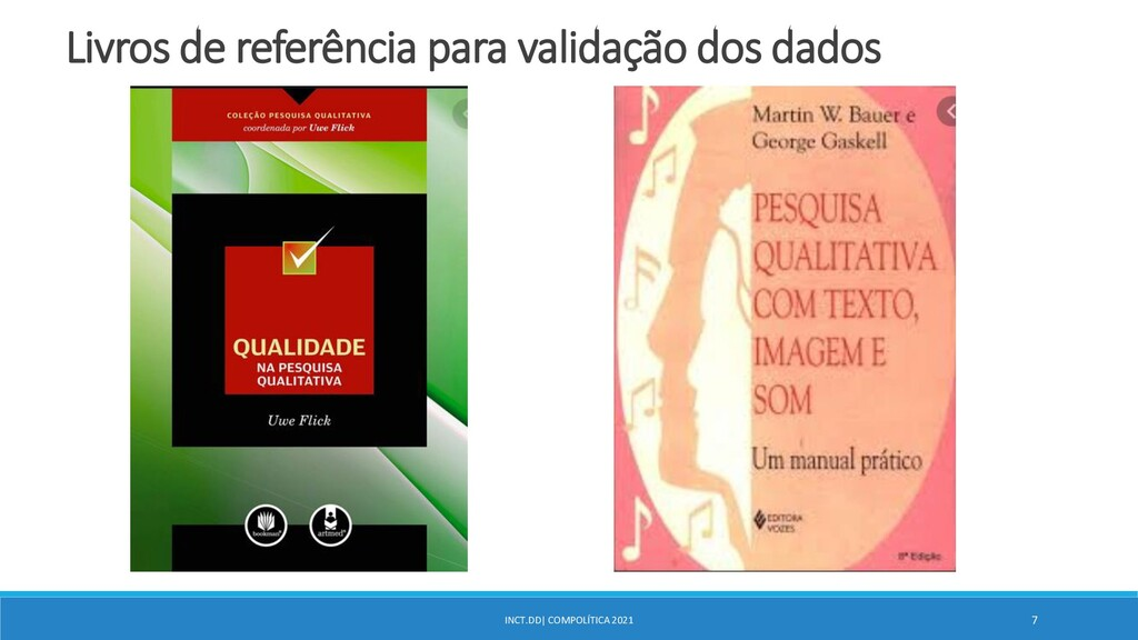 INCT.DD| COMPOLÍTICA 2021 7 Livros de referênci...