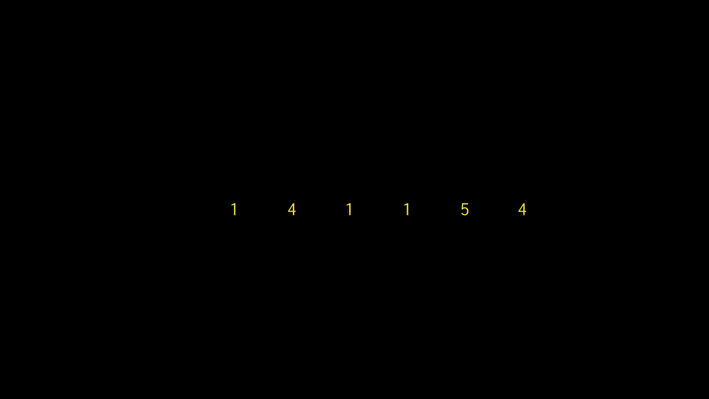 1 4 1 1 5 4
