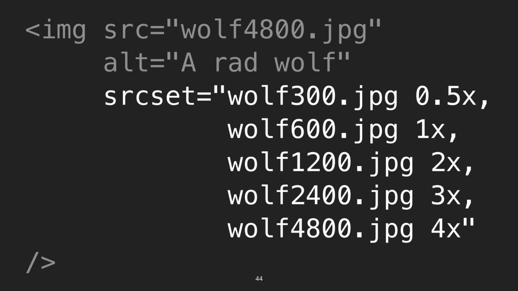 "44 <img src=""wolf4800.jpg"" alt=""A rad wolf"" src..."