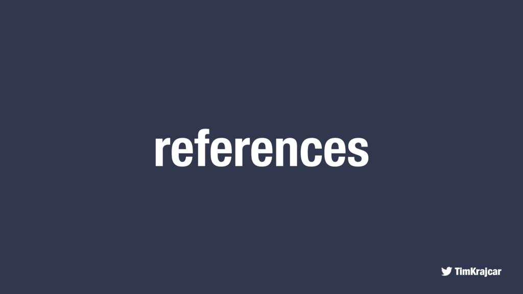 TimKrajcar references