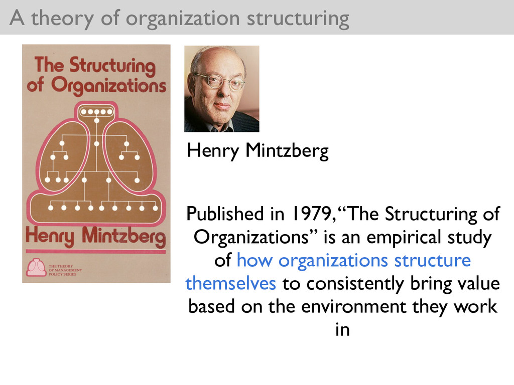 A theory of organization structuring Henry Mint...