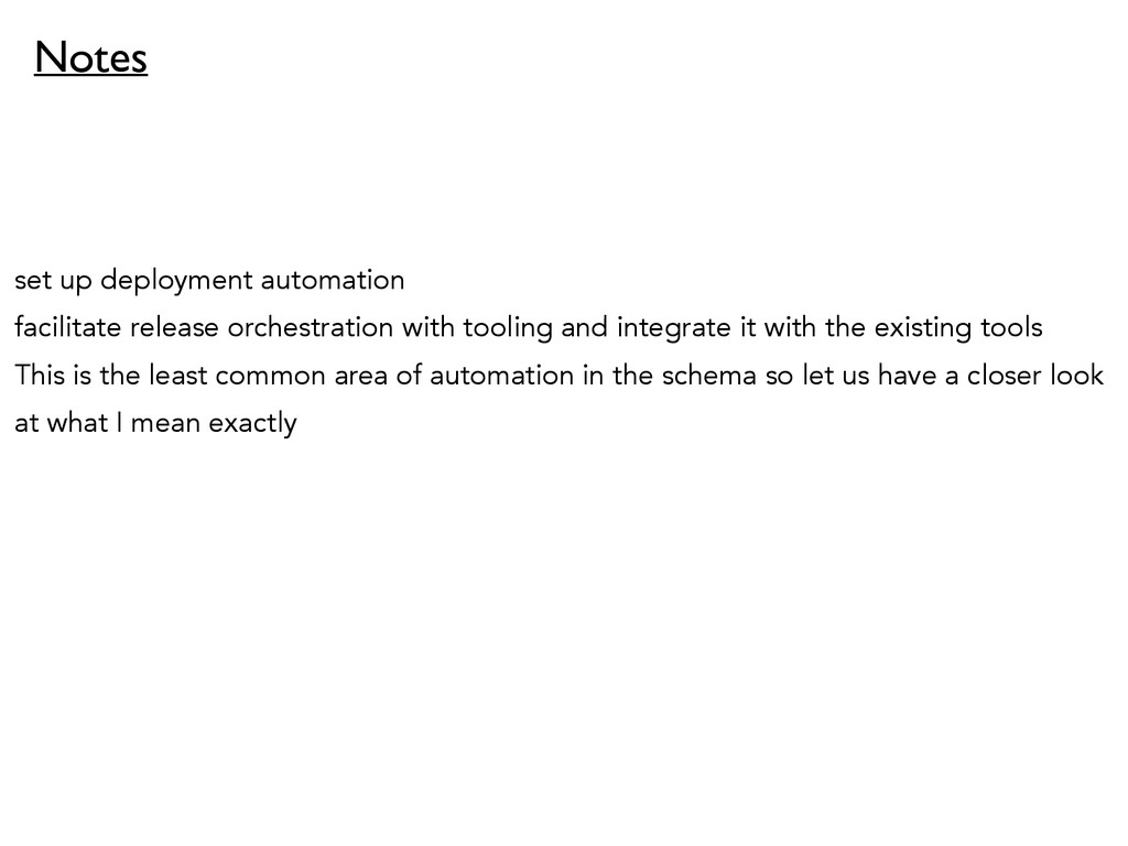set up deployment automation facilitate release...