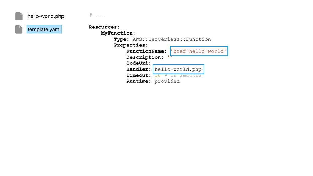 # ... Resources: MyFunction: Type: AWS::Serverl...