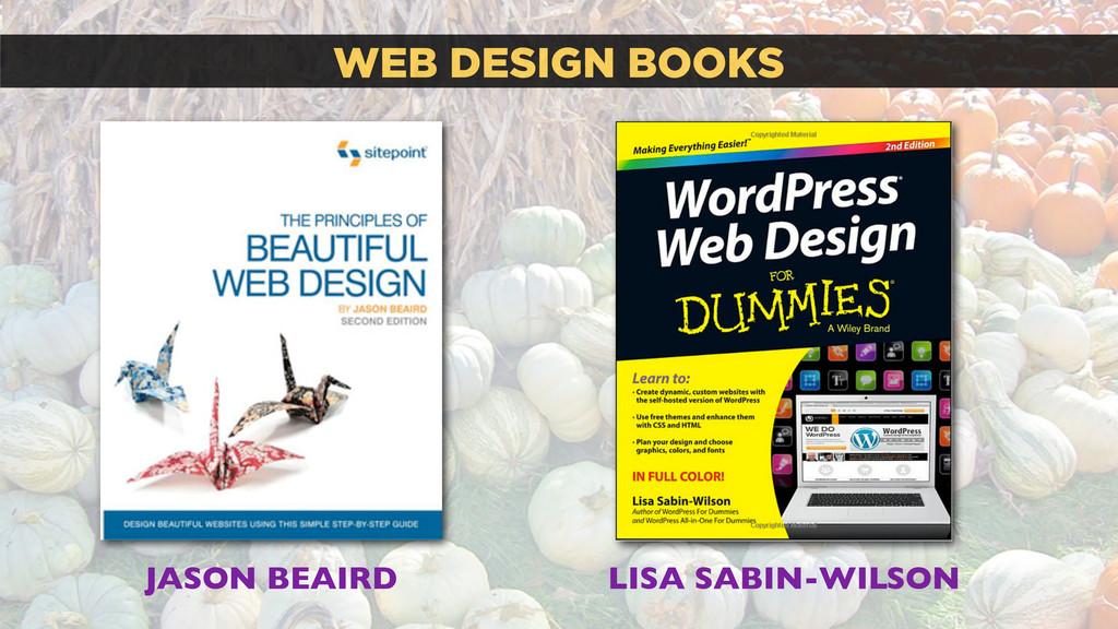 WEB DESIGN BOOKS LISA SABIN-WILSON JASON BEAIRD