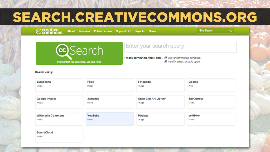 SEARCH.CREATIVECOMMONS.ORG