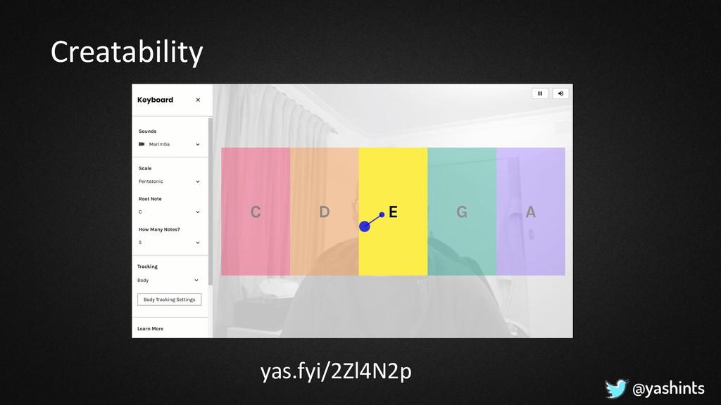 @yashints Creatability yas.fyi/2Zl4N2p