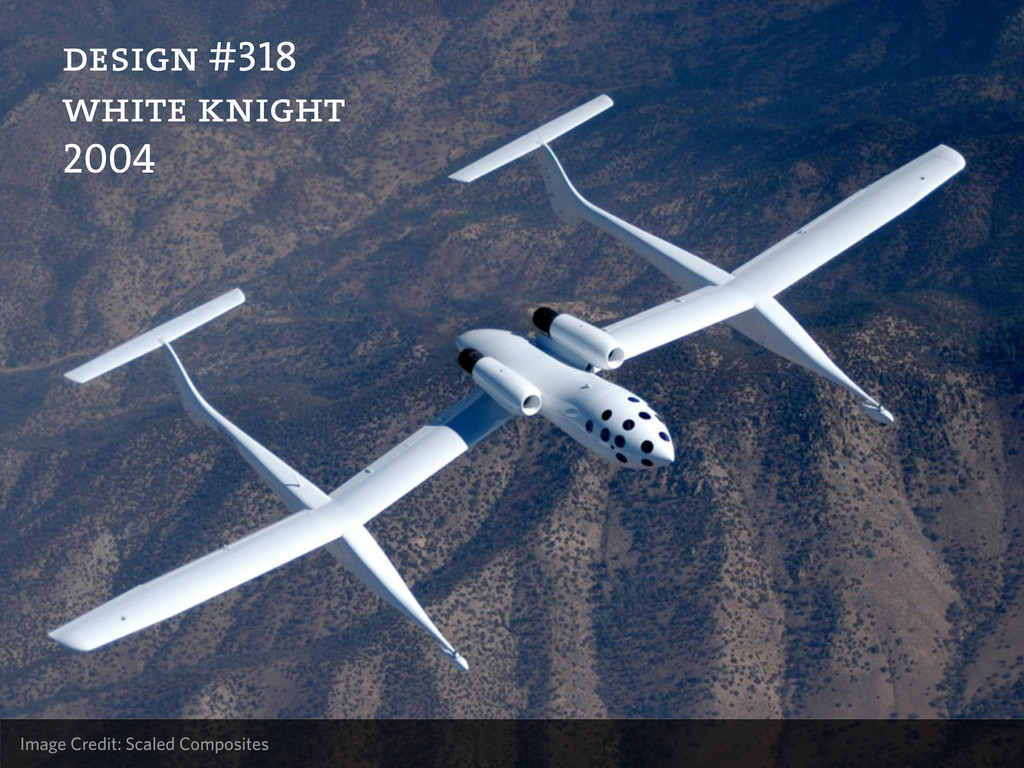 Image Credit: Scaled Composites design #318 whi...
