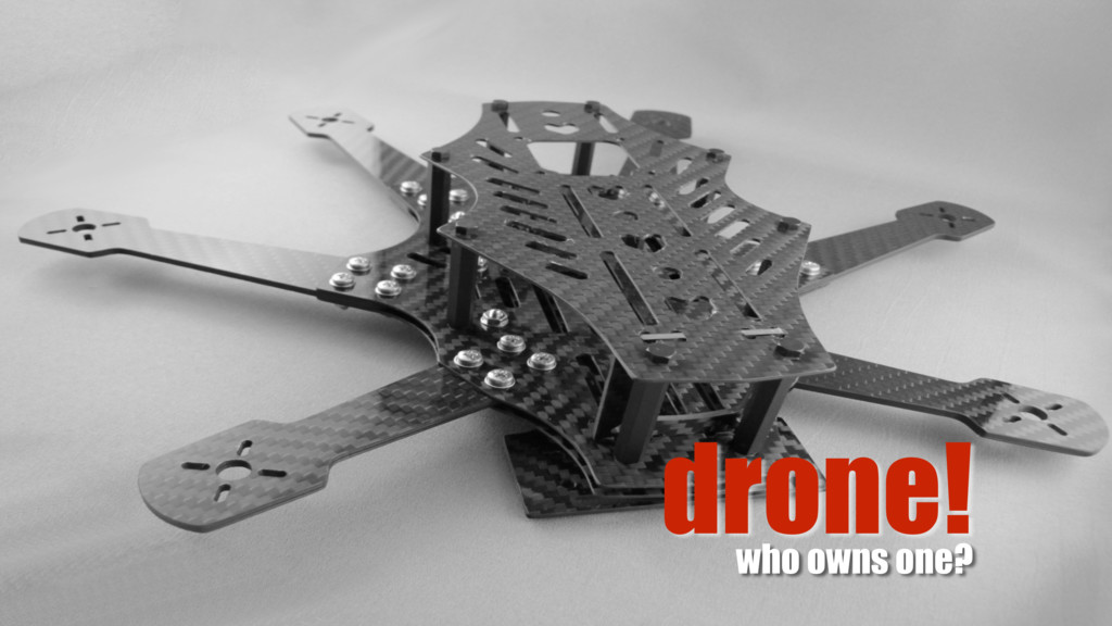 drone! who owns one?