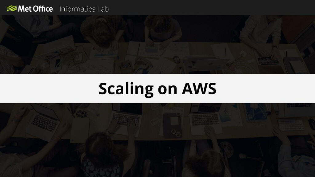 Scaling on AWS