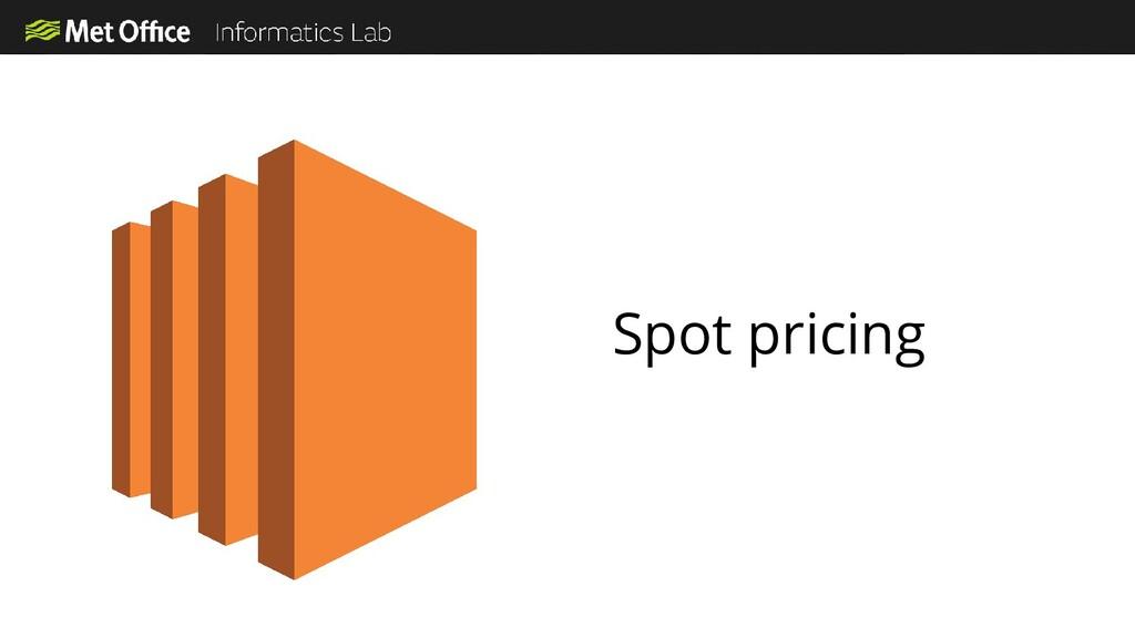 Spot pricing